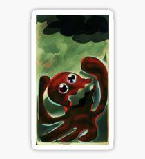 Squid No. 22 - actIIIIIIIING! Sticker