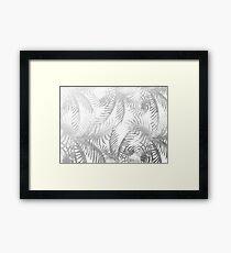 Jungle BW Framed Print