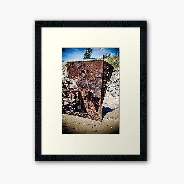 HMQS Gayundah Framed Art Print