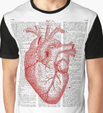 Passionate Heart Graphic T-Shirt