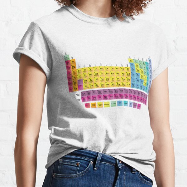 Periodic Table of the 118 Elements Classic T-Shirt