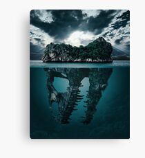 Extinction V.1 Canvas Print