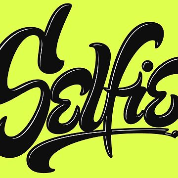 Wicked Acid Neon Green - Only for the Brave - Awesome Selfie Lettering by 26-Characters