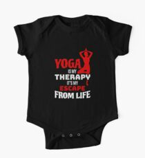Yoga Is My Therapy One Piece - Short Sleeve