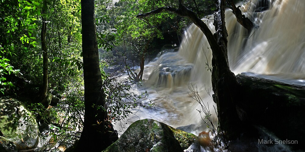 Lower Somersby Falls 4 by Mark Snelson