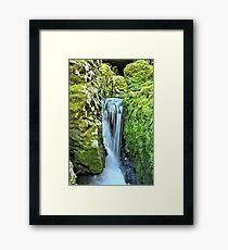 Moine Creek Falls Framed Print