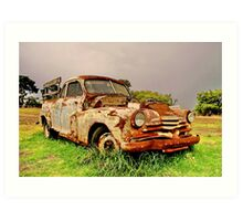 """The Ute"" Art Print"