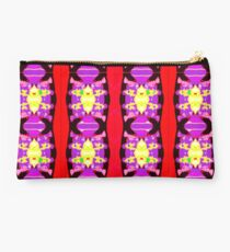 Pattern - Collage Stripe and Quilt Square Studio Pouch