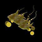 Goldfish and Bubbles  by GrimalkinStudio
