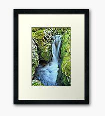 Moine Creek Goes Vertical Framed Print