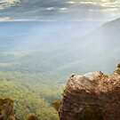 Boar's Head, Blue Mountains, New South Wales, Australia by Michael Boniwell