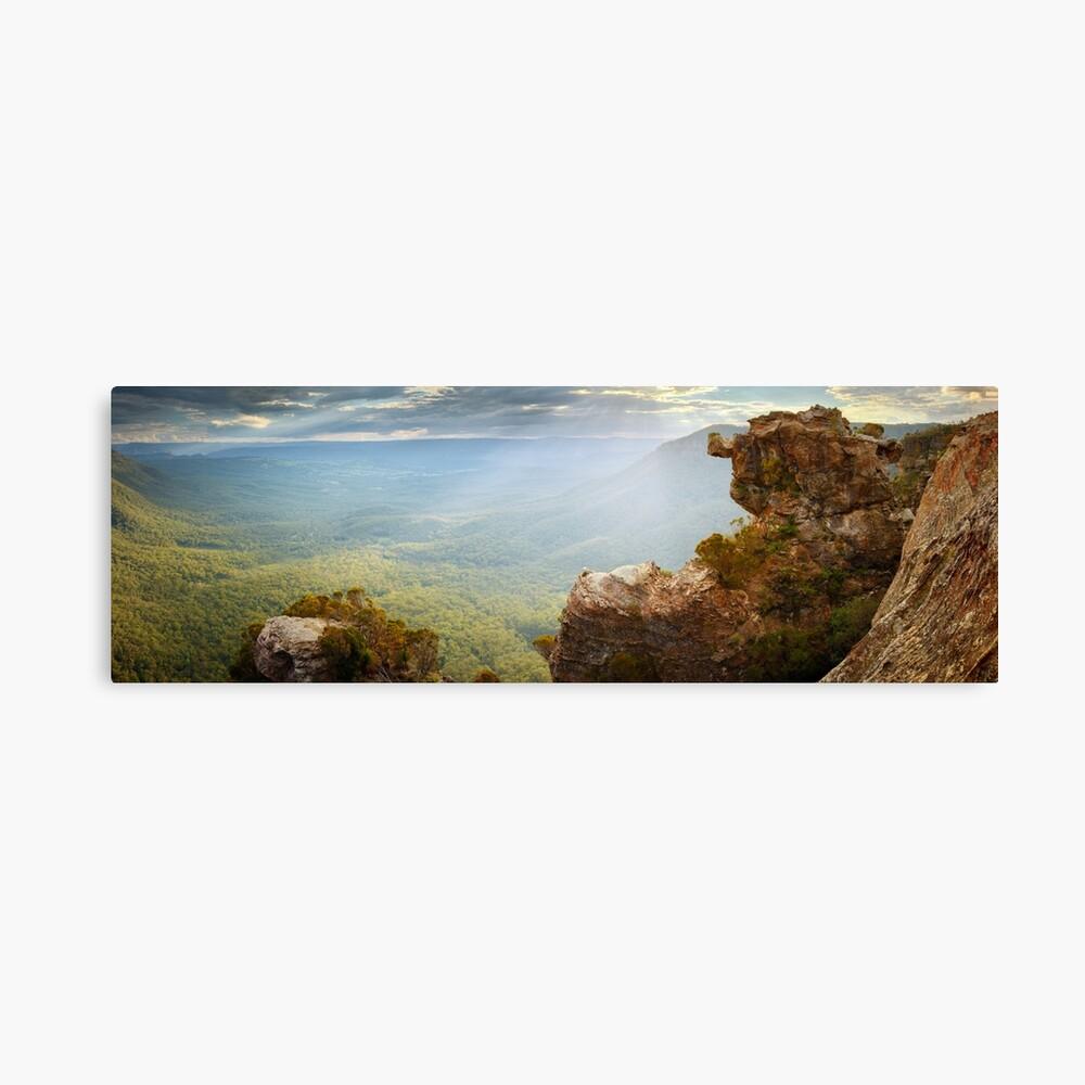 Boar's Head, Blue Mountains, New South Wales, Australia Canvas Print
