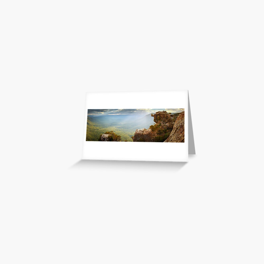 Boar's Head, Blue Mountains, New South Wales, Australia Greeting Card