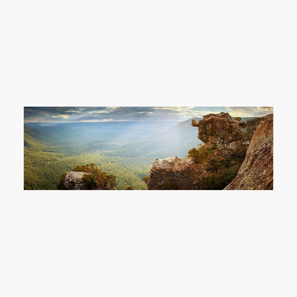 Boar's Head, Blue Mountains, New South Wales, Australia Photographic Print