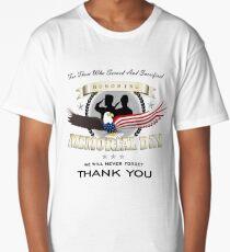 Memorial Day Long T-Shirt