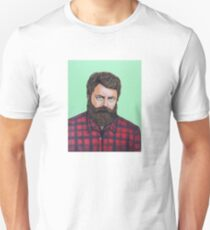 Nick Offerman as Ron Swanson from Parks and Rec T-Shirt