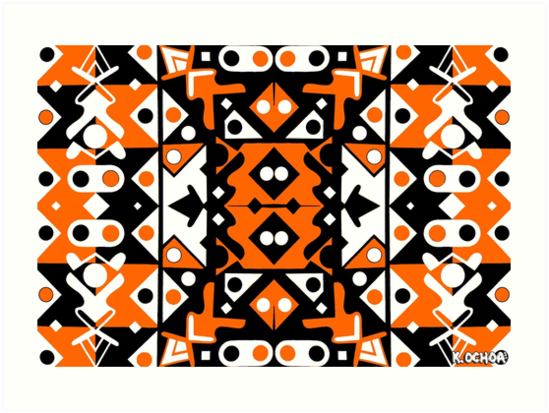 orange b+w 2 by kennethochoa