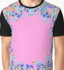 Flower Circle Graphic T-Shirt
