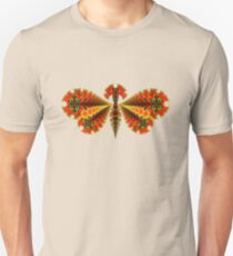 Fractal Butterfly Slim Fit T-Shirt