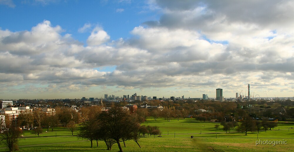 London view in colour by photogenic