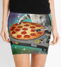 DJ CAT pizza Mini Skirt