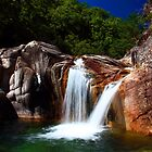 Twin Waterfall by Nuno Pires