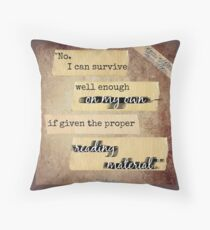 Throne of Glass Bookish quote Throw Pillow