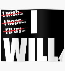 I WILL Poster