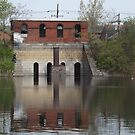 Abandoned Building, Jersey City Reservoir, Jersey City, New Jersey by lenspiro