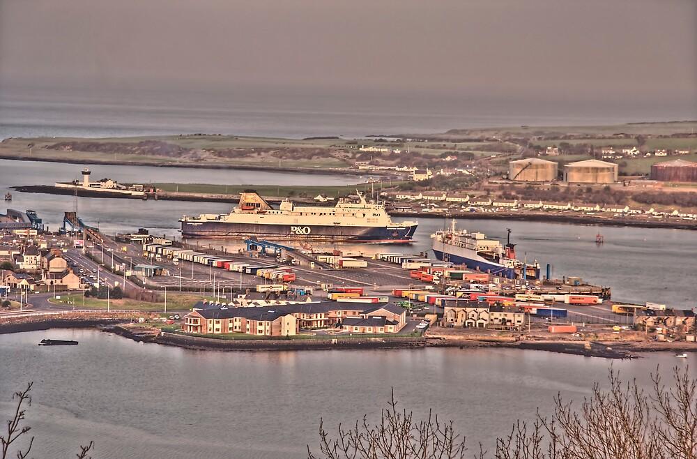 Larne Harbour,N.Ireland. by crackerjack