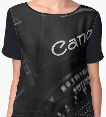 [•] Canon New F-1  Women's Chiffon Top