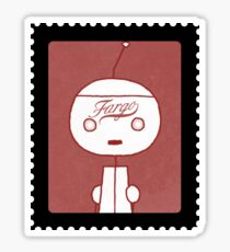 Minsky Stamp (Fargo) Sticker