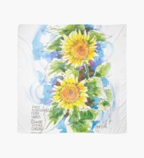 Sunflowers, France Scarf