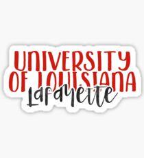 University of Louisiana Lafayette - Style 1 Sticker