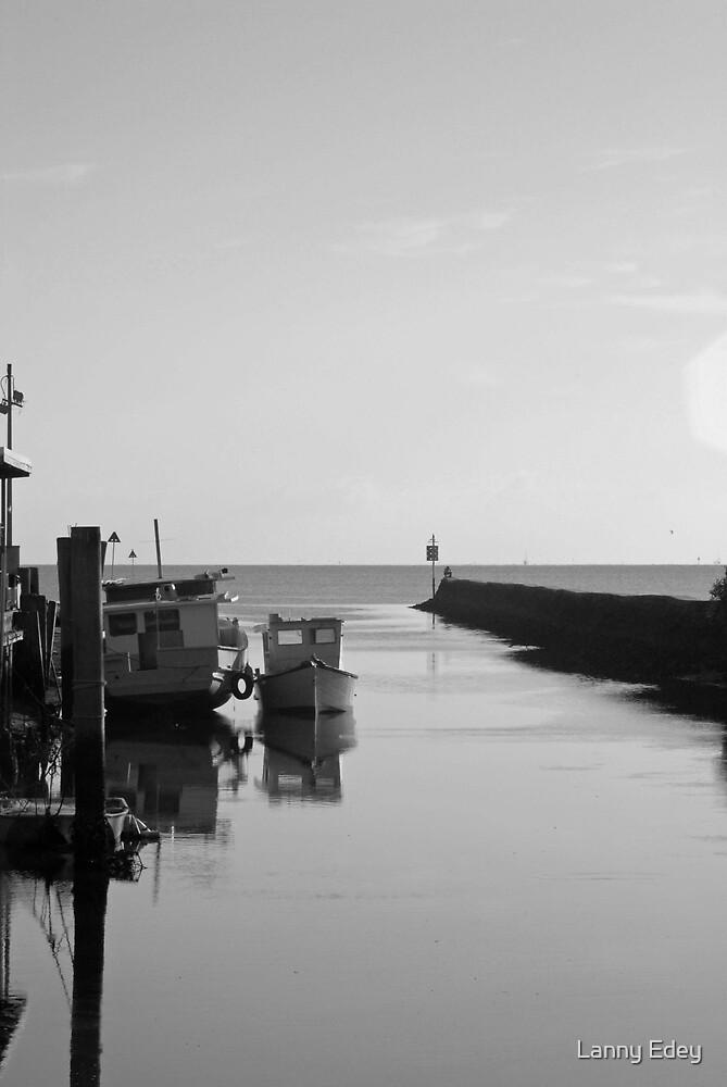 Little boat by Lanny Edey