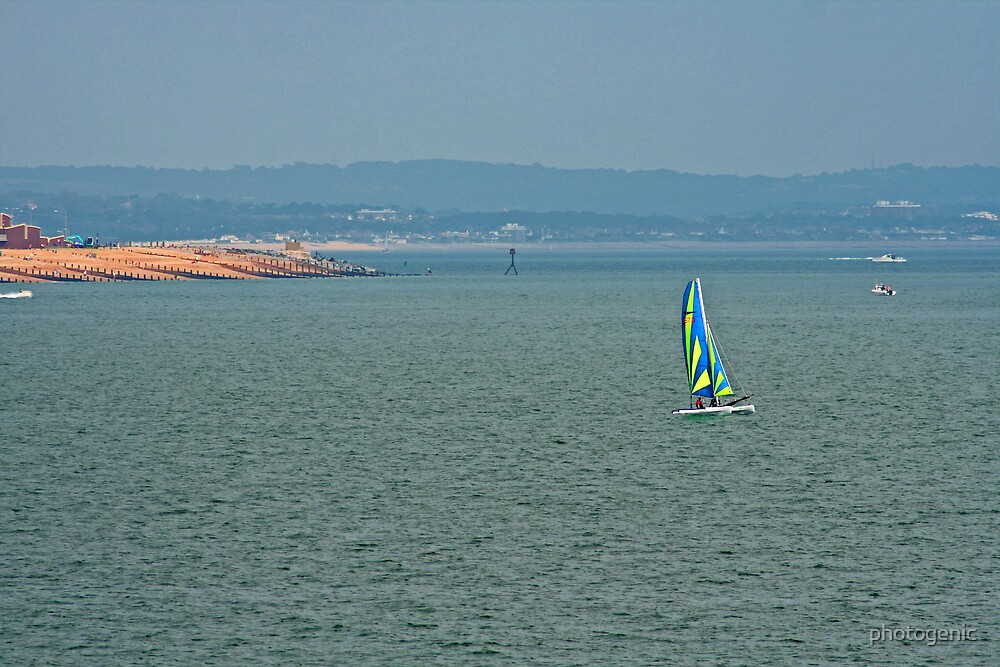 sailing in brighton by photogenic