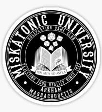 Miskatonic University Roleplaying Club Sticker