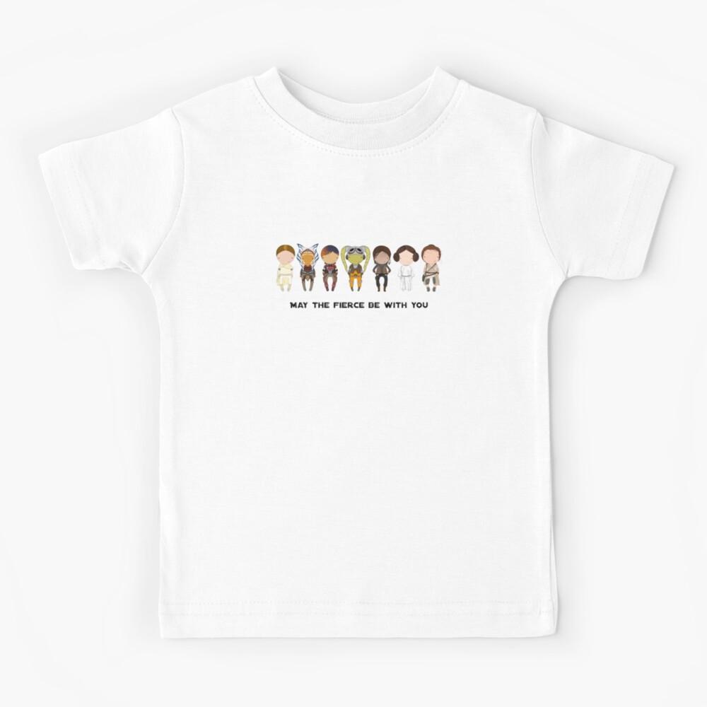 Fierce Women : updated Kids T-Shirt