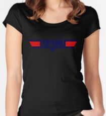 GNU LINUX Women's Fitted Scoop T-Shirt