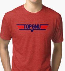 GNU LINUX Tri-blend T-Shirt