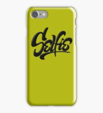 Awesome Skateboard Graffiti Selfie Street Art Lettering - Earthy Green iPhone Case/Skin