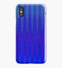 Blue Vibrations iPhone Case