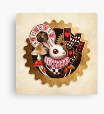 Bunny Time Canvas Print