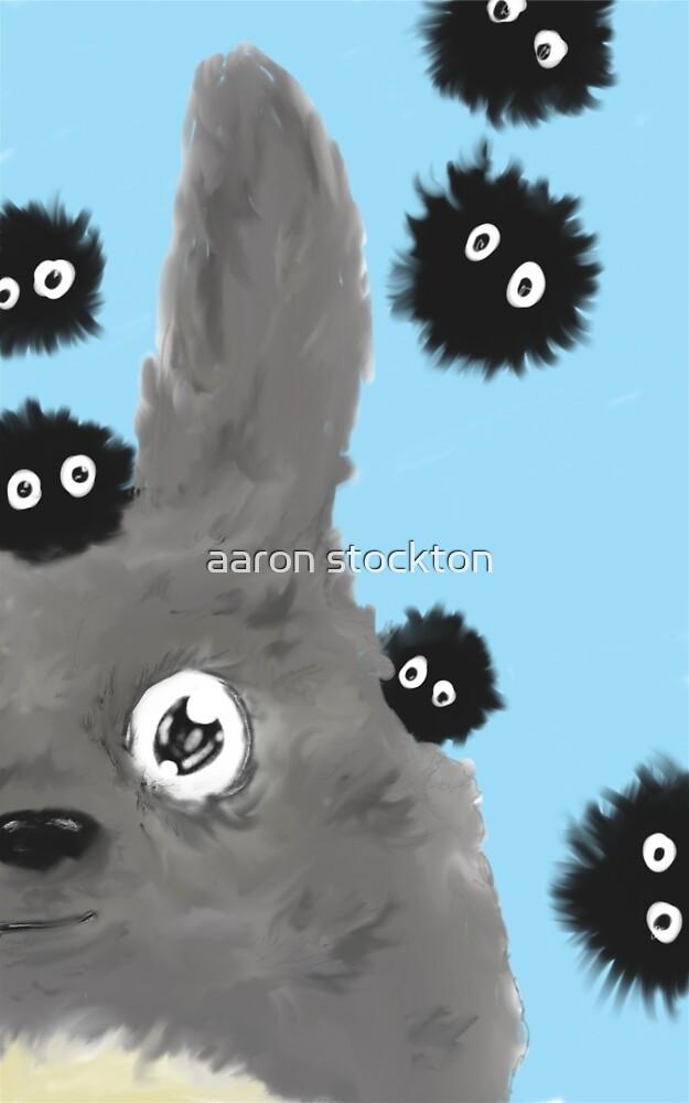 Totoro by aaron stockton
