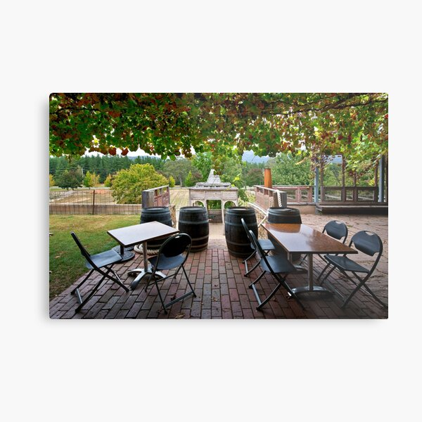 1543 The Winery Metal Print