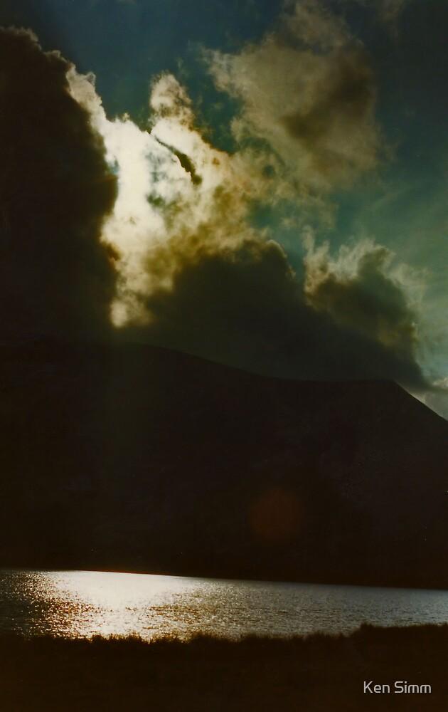 Lake & Mountain by Kenart