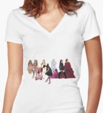 Pop Princess Evolution II Women's Fitted V-Neck T-Shirt