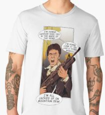 Scarface is Jacked Up on Mountain Dew! Men's Premium T-Shirt