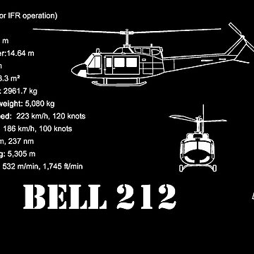 Bell 212 Helicopter Specs by PrecisionHeli