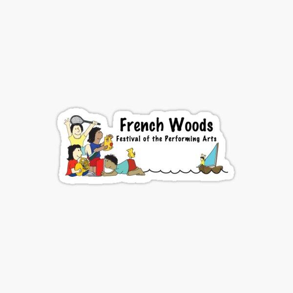 French Woods Logo 1 Sticker